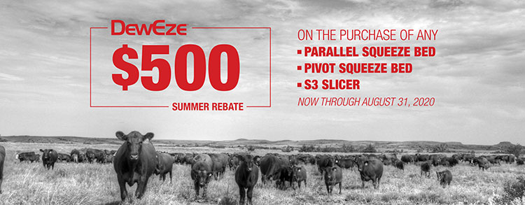 DewEze Announces $500 Summer Rebate Discount Program