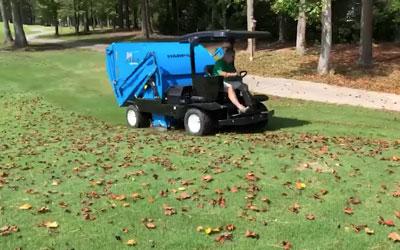Harper Hawk Leaf Cleanup In North Carolina | Harper Turf Equipment