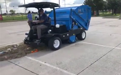 Harper Hawk Demo At The Toyota Soccer Center In Dallas, TX | Harper Turf Equipment