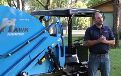 Game Changer: Harper Hawk Turf Sweeper Walkaround | Harper Turf Equipment