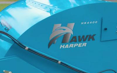 Harper Hawk: Self-Propelled Sweeper Features | Harper Turf Equipment Hawk