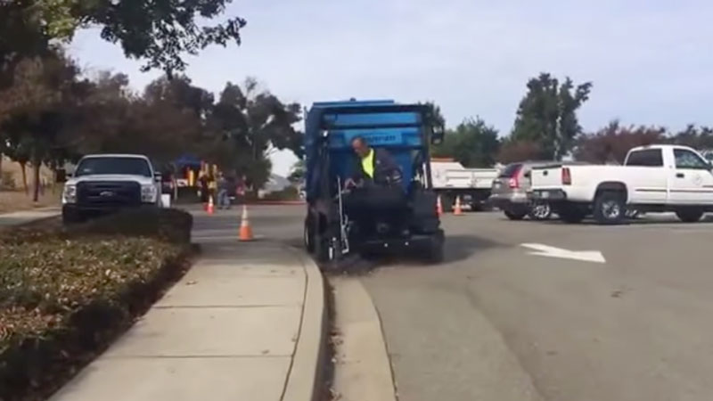 Harper TV30 Curb Cleanup