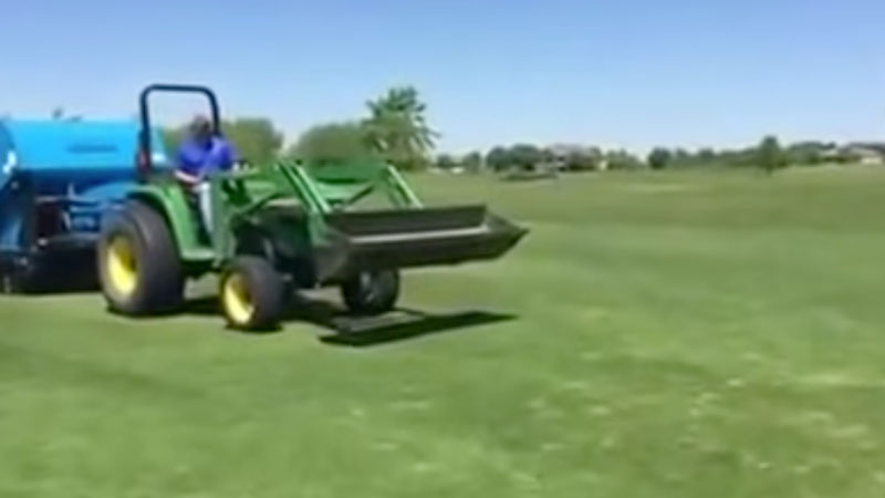 Harper TV60HD Verticut and Vac in One Pass