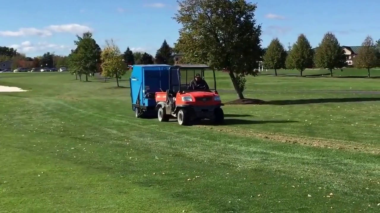 Harper TV40 Thatch Removal Pickup