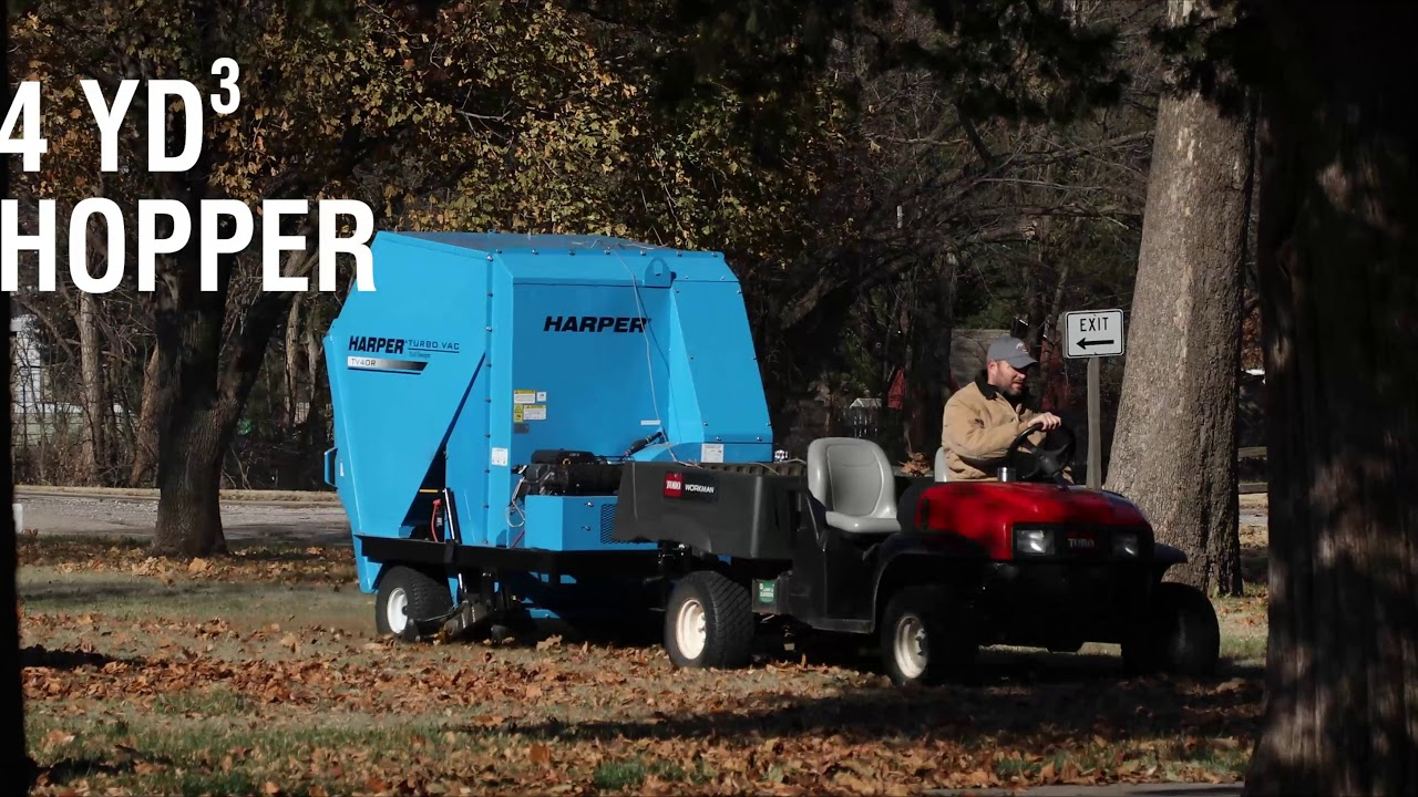 TV40 Vac/Sweeper by Harper