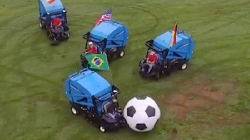 Harper Turf's World Cup Mud Challenge